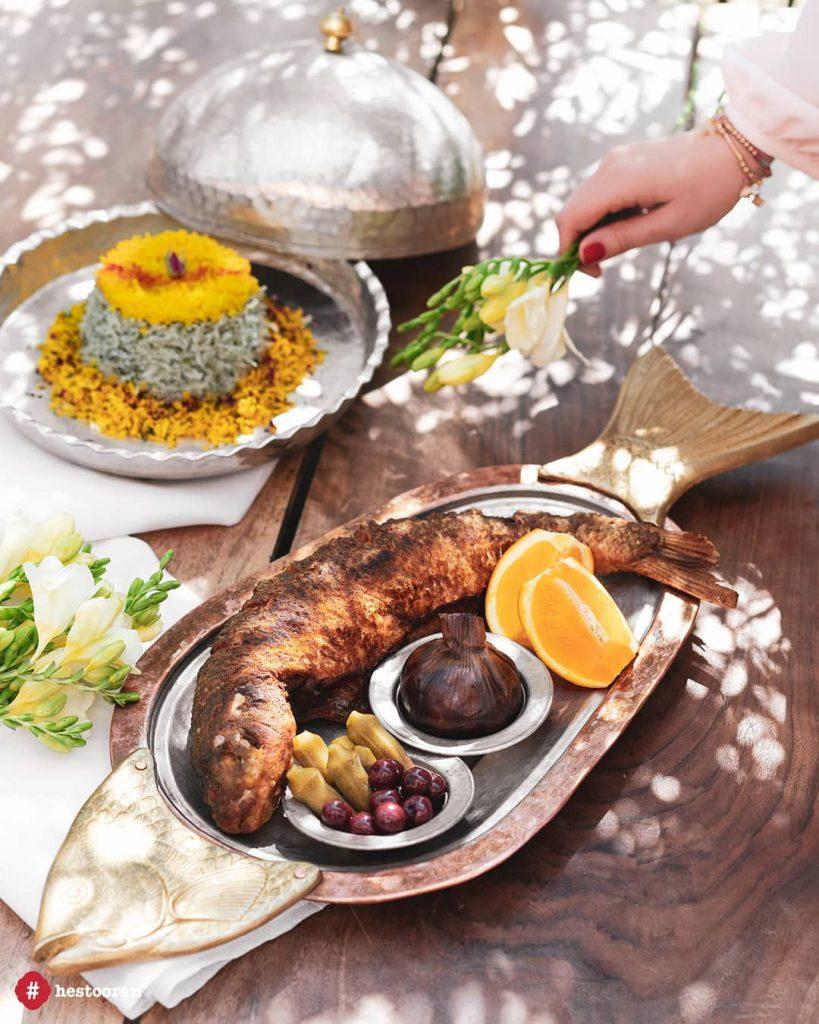 ارائه غذا و فرهنگ ایرانی حستوران | حستوران