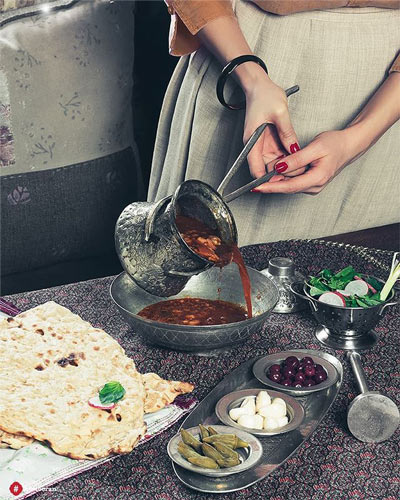 انواع غذاهای اصیل ایرانی   حس توران