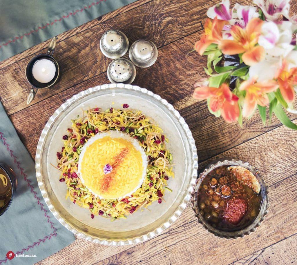 غذاهای رستوران ایرانی حستوران | حستوران