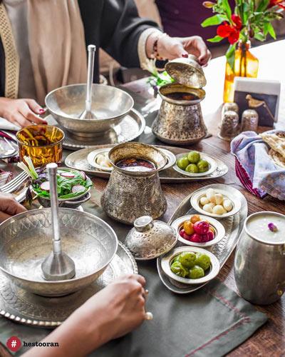 خلق یک خاطره زیبا در رستوران ایرانی حس توران | رستوران حستوران
