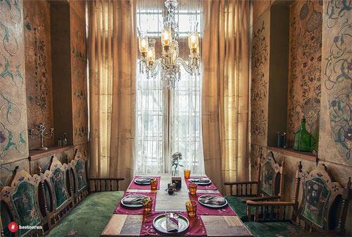 دکوراسیون رستوران ایرانی | رستوران حستوران