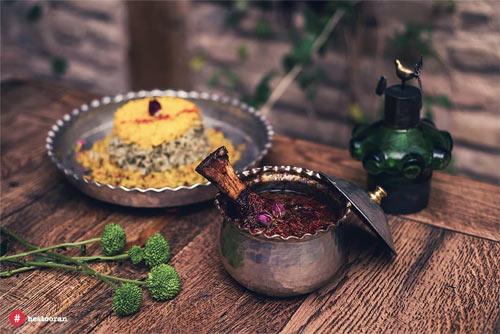لذت خوردن بهترین غذای ایرانی در ظروف مسی | رستوران حستوران