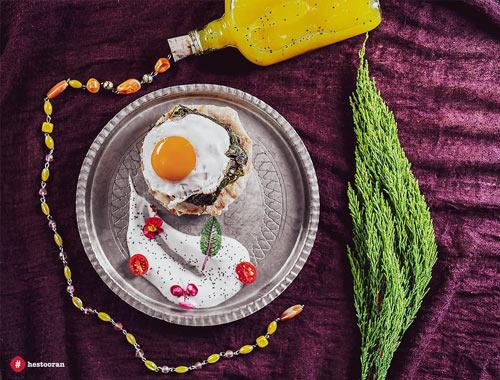 کیفیت غذای یک رستوران ایرانی | رستوران حستوران