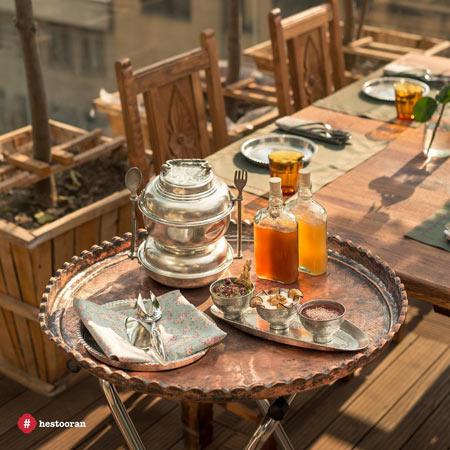 طعم بهترین غذای ایرانی | حستوران رستوران نیاوران
