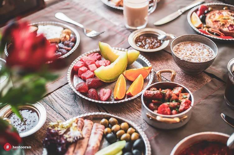 بهترین غذای ایرانی دارای چه نشانه هایی است ؟ | رستوران فرشته