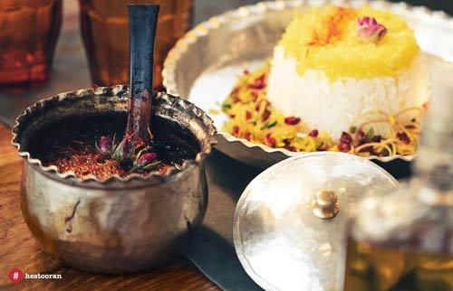 بهترین غذای ایرانی در منوی رستوران فرشته | حستوران