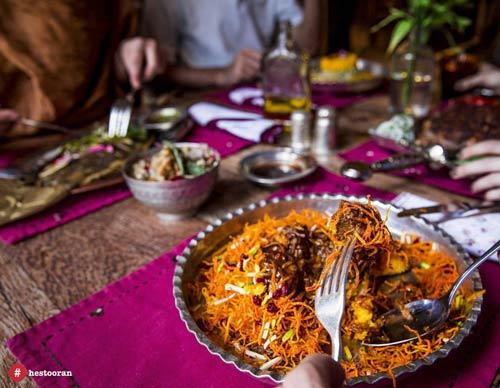 محيط داخلي بهترين رستوران ايراني به چه شکل است؟ | حستوران
