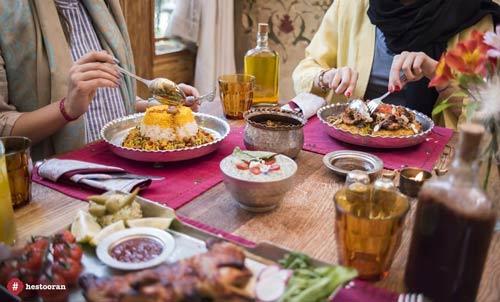 منوي رستوران حستوران، بهترين منوي غذا، در بهترين رستوران ايراني | حستوران
