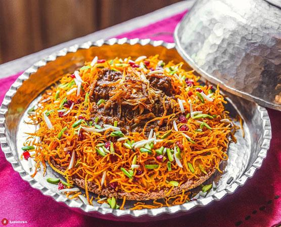 غذای ایرانی در حستوران